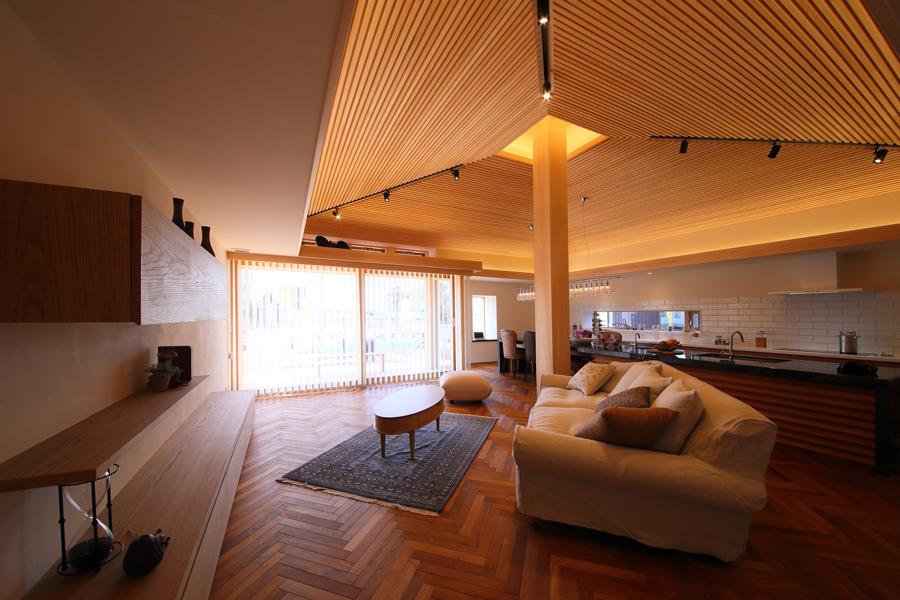 愛知県岡崎市の住宅展示場・モデルハウスのリビング