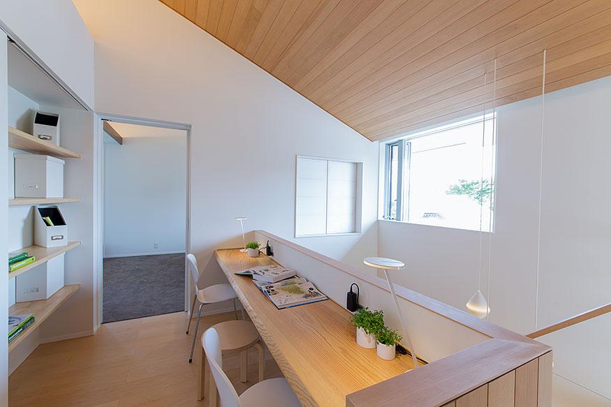 岐阜県可児市の住宅展示場・モデルハウスのカウンター