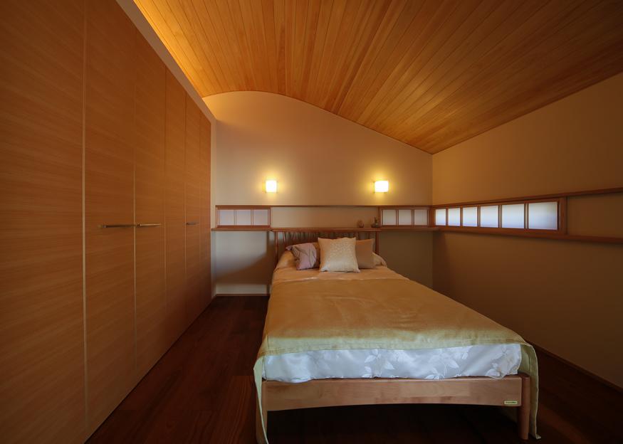 愛知県長久手市の住宅展示場・モデルハウスの寝室