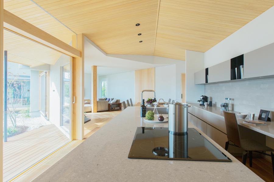 愛知県春日井市の住宅展示場・モデルハウスのリビング