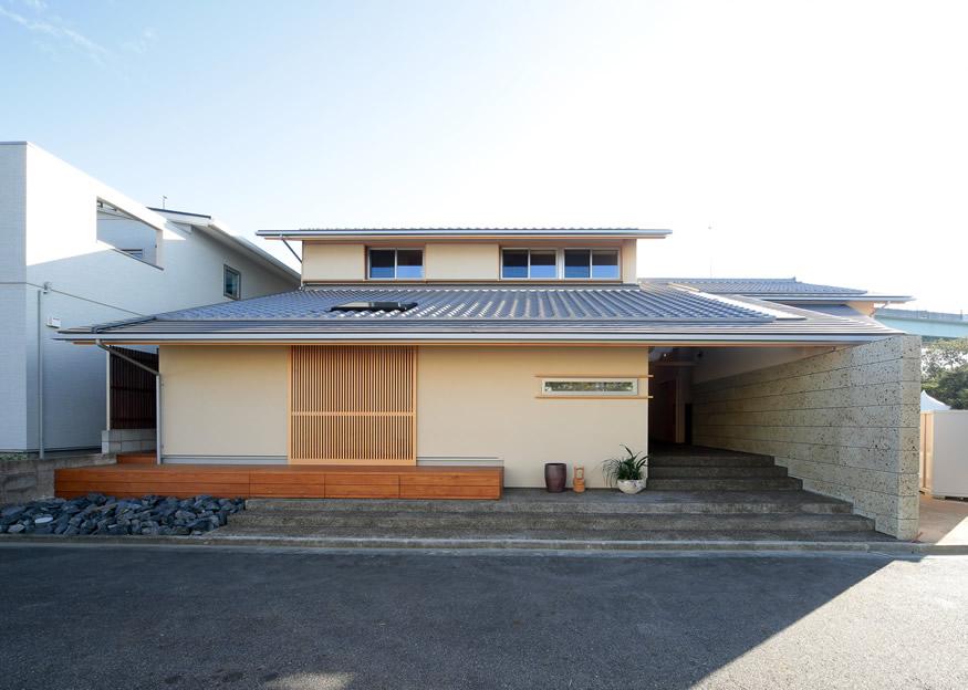 愛知県長久手市の住宅展示場・モデルハウスの外観