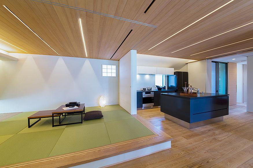岐阜県可児市の住宅展示場・モデルハウスの和室