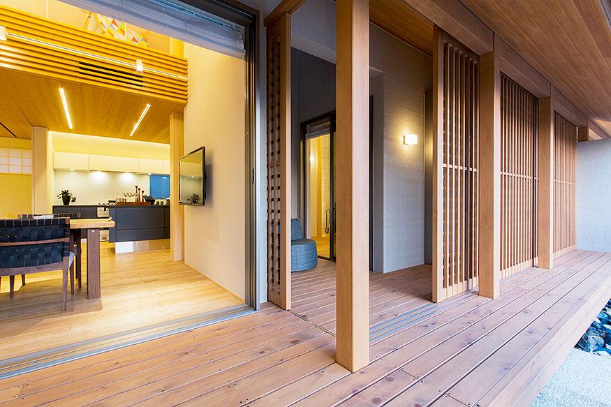 岐阜県可児市の住宅展示場・モデルハウスのリビング