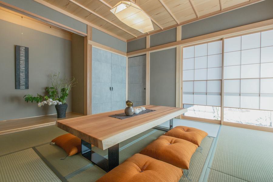 愛知県春日井市の住宅展示場・モデルハウスの和室