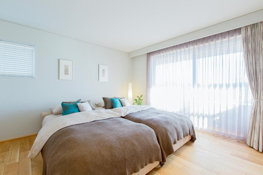 愛知県春日井市の住宅展示場・モデルハウスの寝室