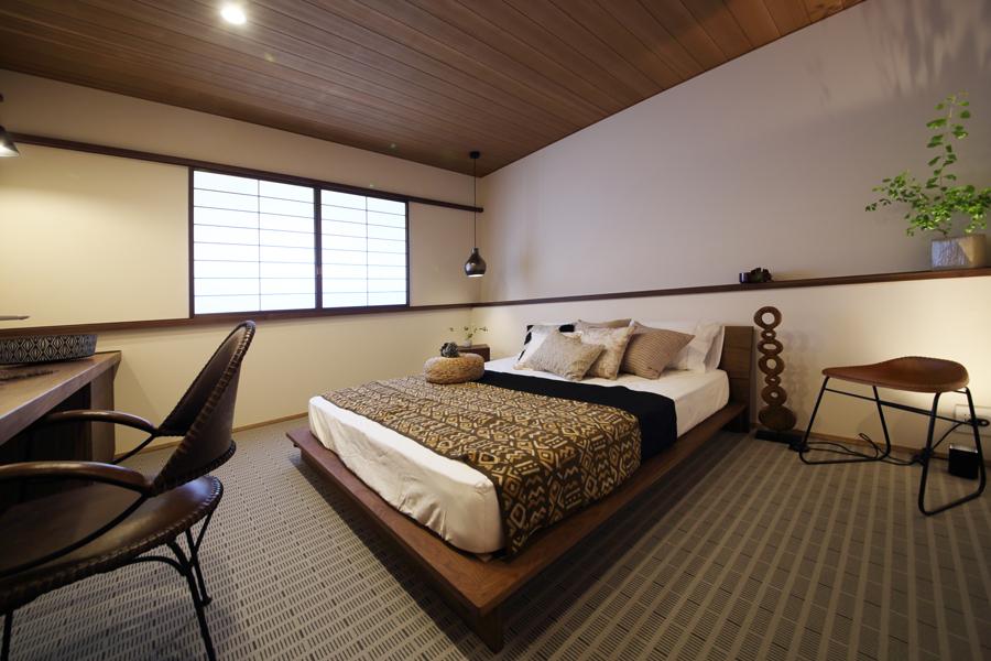 愛知県岡崎市の住宅展示場・モデルハウスの寝室
