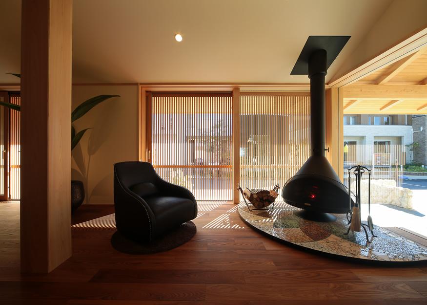 愛知県長久手市の住宅展示場・モデルハウスのリビング