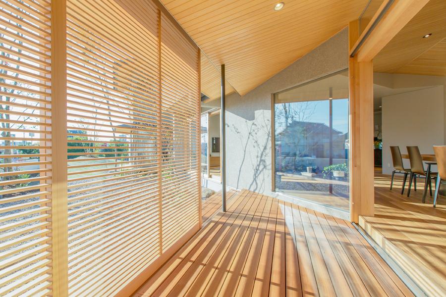 愛知県春日井市の住宅展示場・モデルハウスの廊下