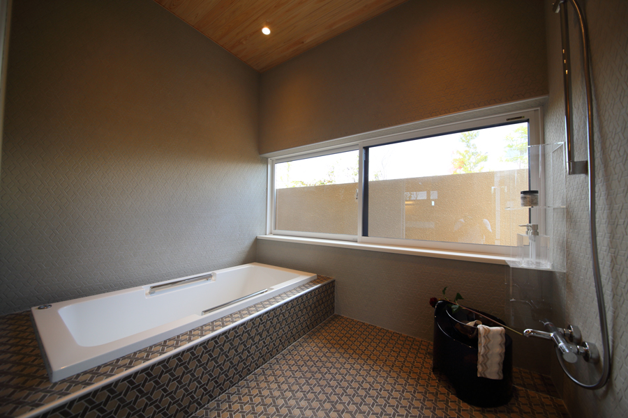 愛知県岡崎市の住宅展示場・モデルハウスのバスルーム