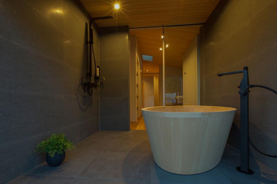 愛知県春日井市の住宅展示場・モデルハウスのバスルーム