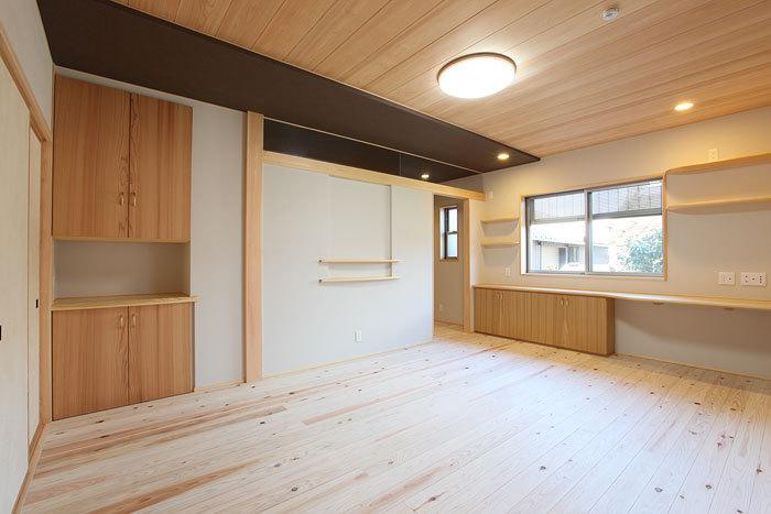 各部屋には工夫を凝らした収納スペース 愛知県春日井市の平屋 施行事例