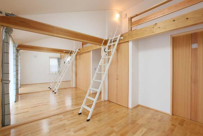 ロフトスペースを確保し更に空間を有効活用 愛知県豊川市の平屋 施行事例