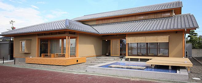 岡崎市の住宅展示場・モデルハウスの外観